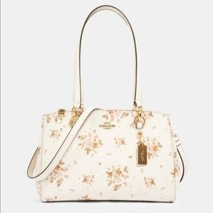 COACH Etta Carryall w/ Rose Bouquet Print